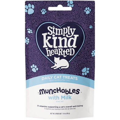 Feline Munchables with Milk - 40 g