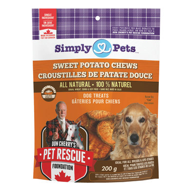 Treats - Sweet Potato Chews - 200 g