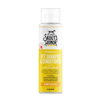 Probiotic Shampoo Plus Conditioner - Honeysuckle - 16 oz