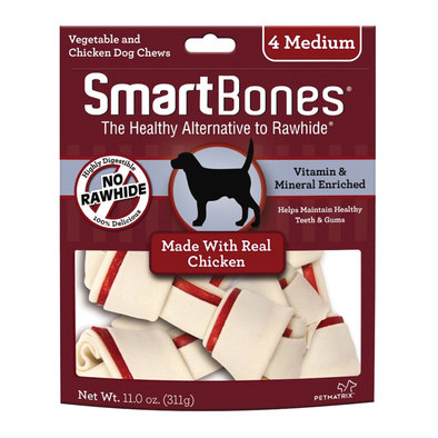 Bones - Chicken - Medium - 4 pk