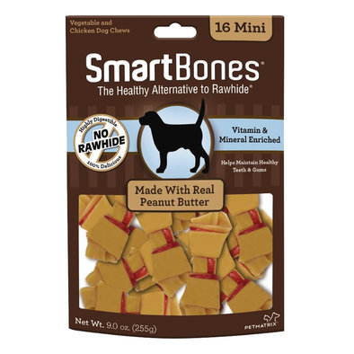 Bones - Peanut Butter - Mini 16 pk