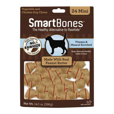 Bones - Peanut Butter - Mini - 24 pk