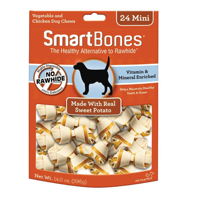 Bones - Sweet Potato - Mini - 24 pk