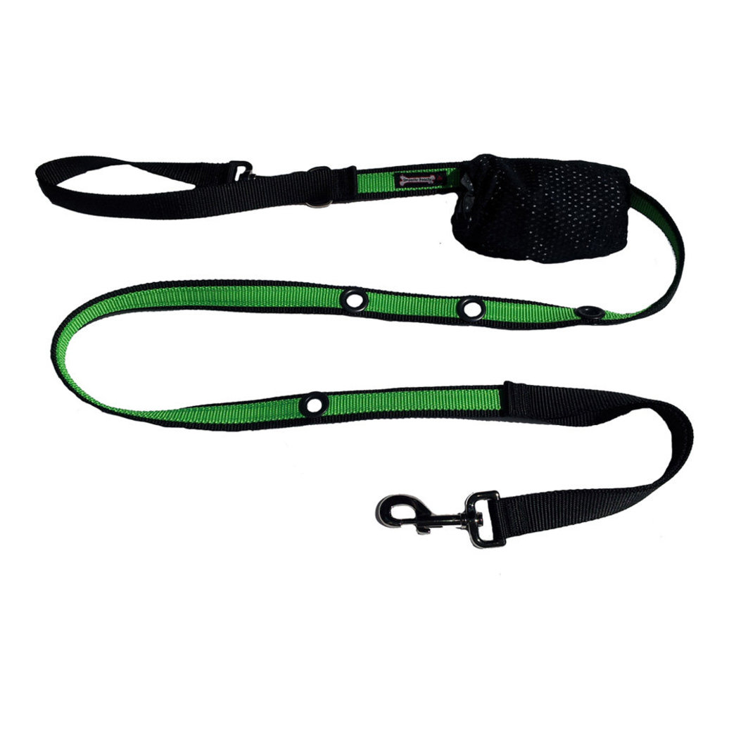 "View larger image of 2-Tone Optional Hands Free Lead - Black/Apple - 1"" Width - 6'"