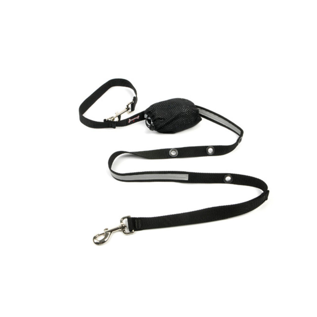 "View larger image of Optional Hands-Free Lead - Reflective Black - 1"" Width - 6'"