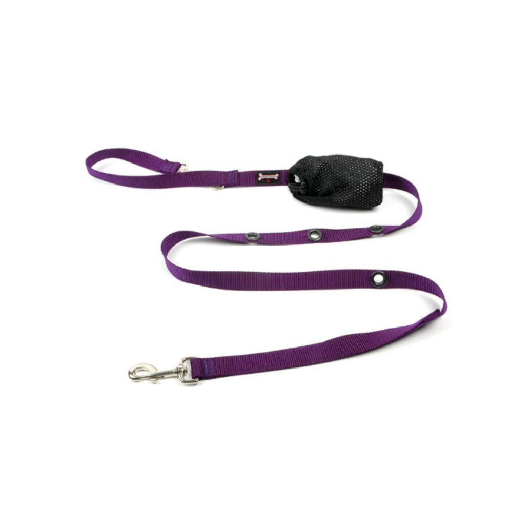"View larger image of Optional Hands-Free Lead - Reflective Purple - 1"" Width"