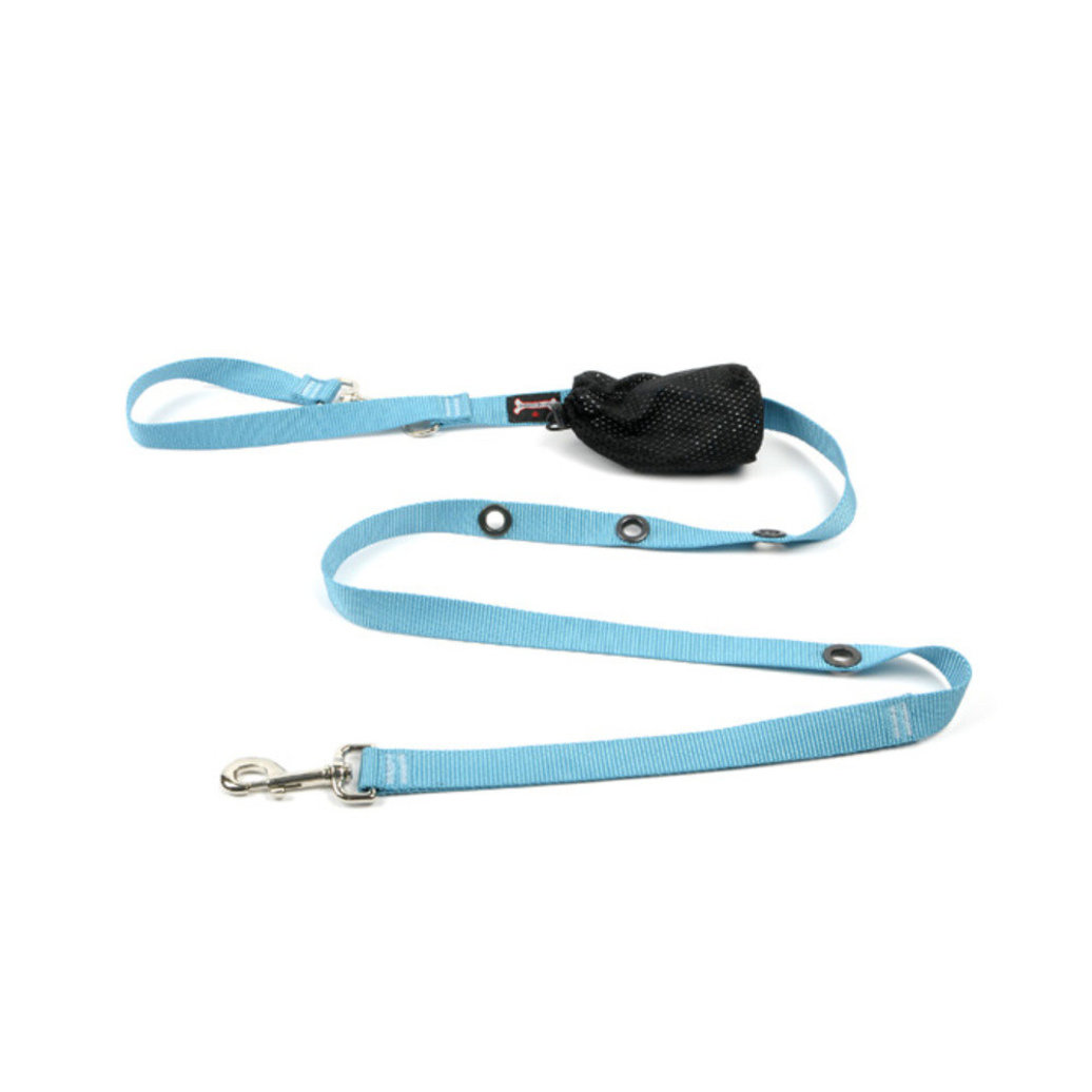 "View larger image of Optional Hands-Free Lead - Turquoise - 5/8"" Width - 6'"