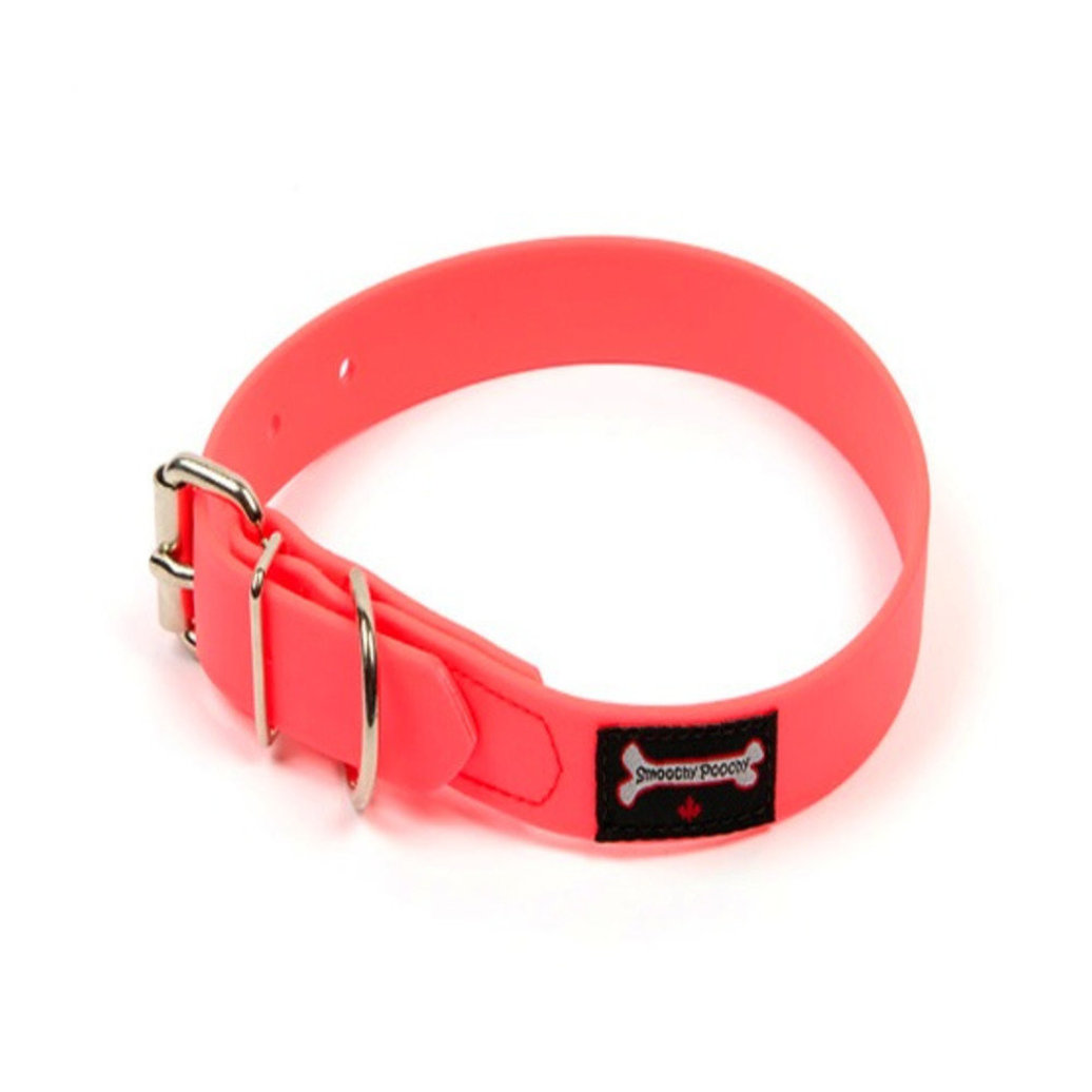 """View larger image of Polyvinyl Collar - Hot Pink - 1"""" Width"""