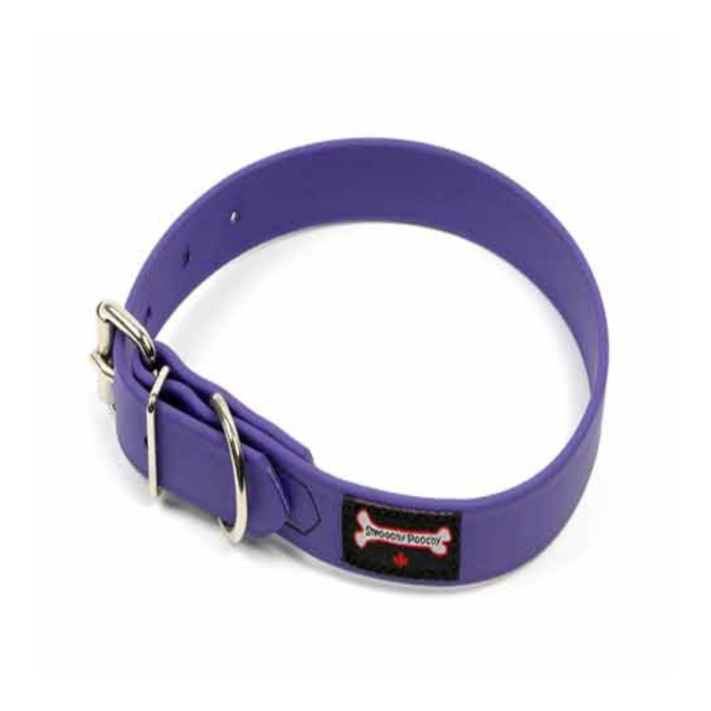 """View larger image of Polyvinyl Collar - Purple - 1"""" Width"""