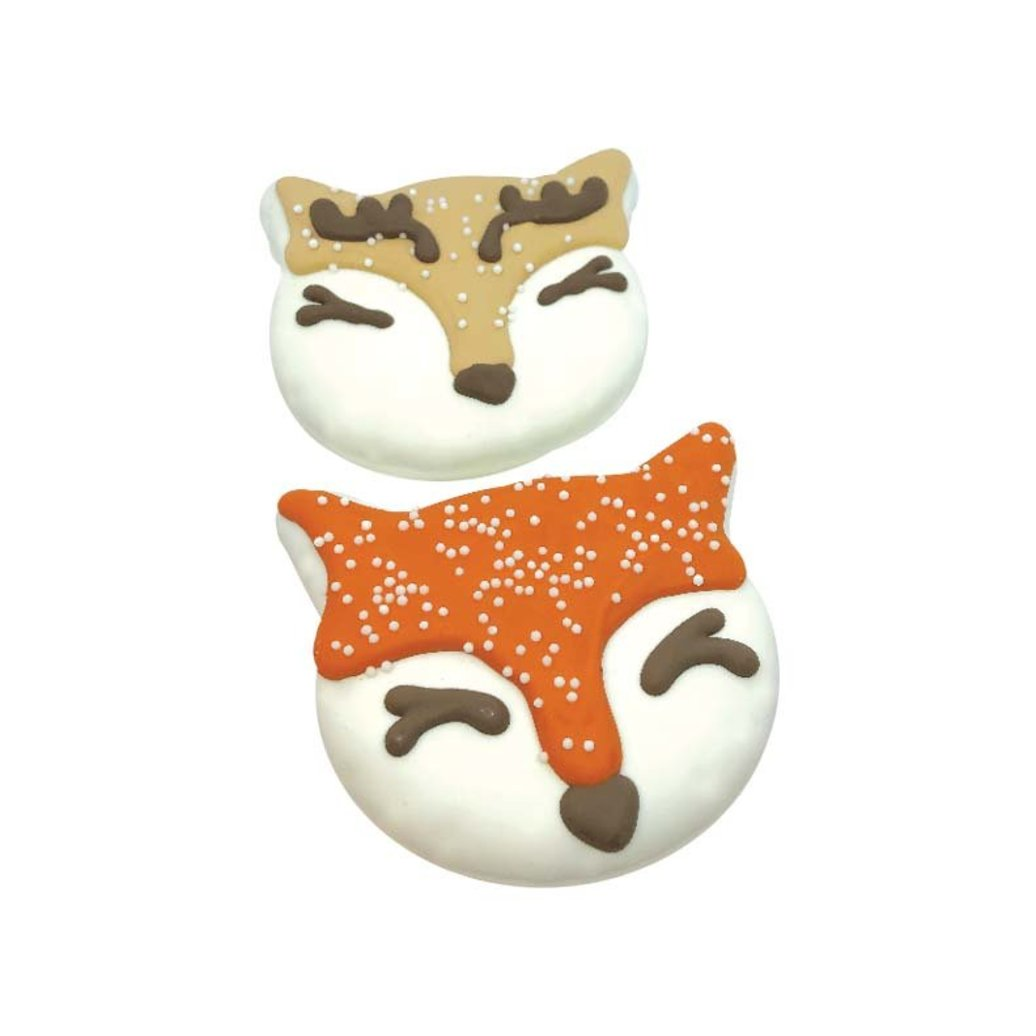 View larger image of Snow Cute! Woodland Fox & Deer