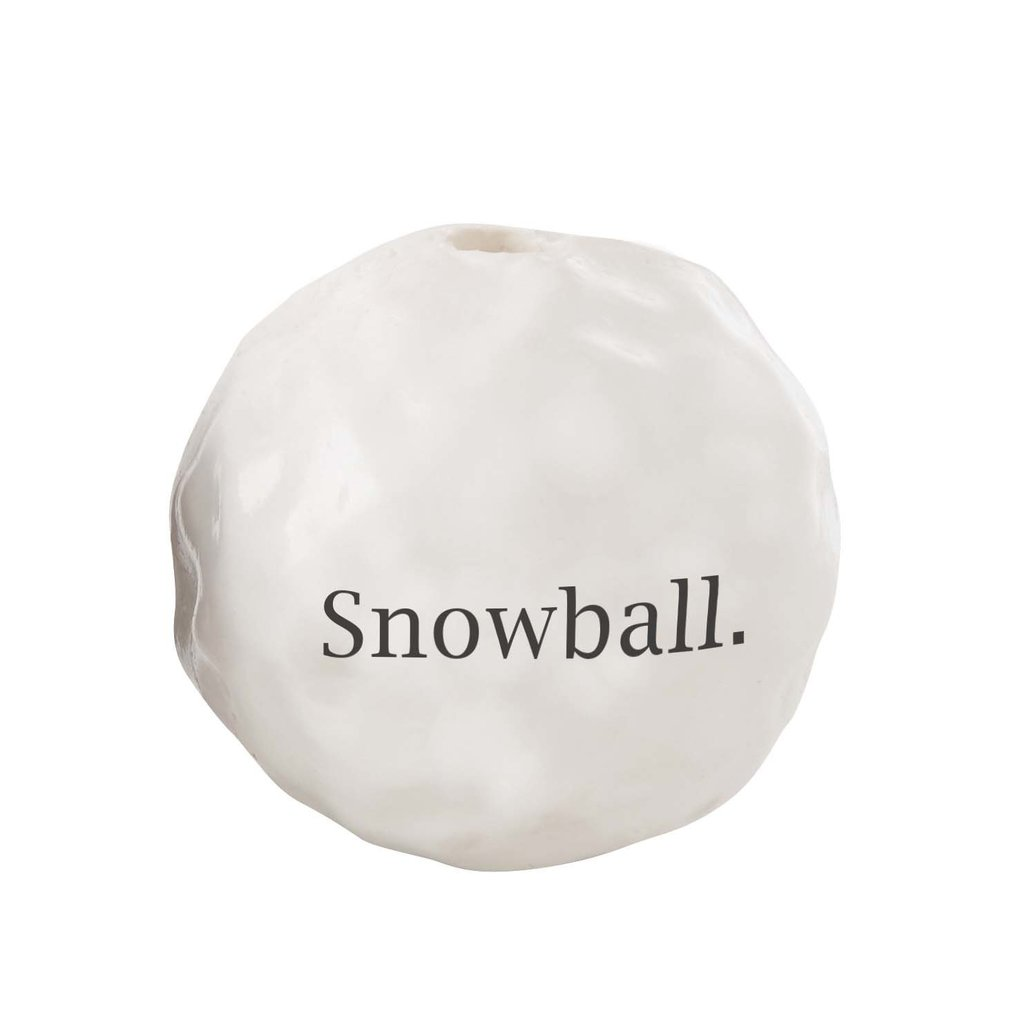 View larger image of Snowball - White