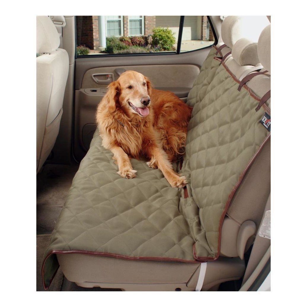 View larger image of Seat Cover, Deluxe Sta-Put Waterproof Bench Seat Cover - 56x47""