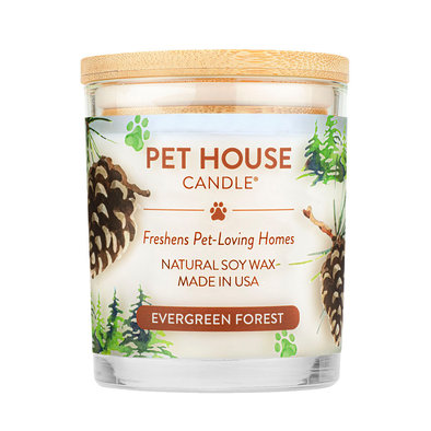 Soy Wax Candle - Evergreen - 8.5 oz
