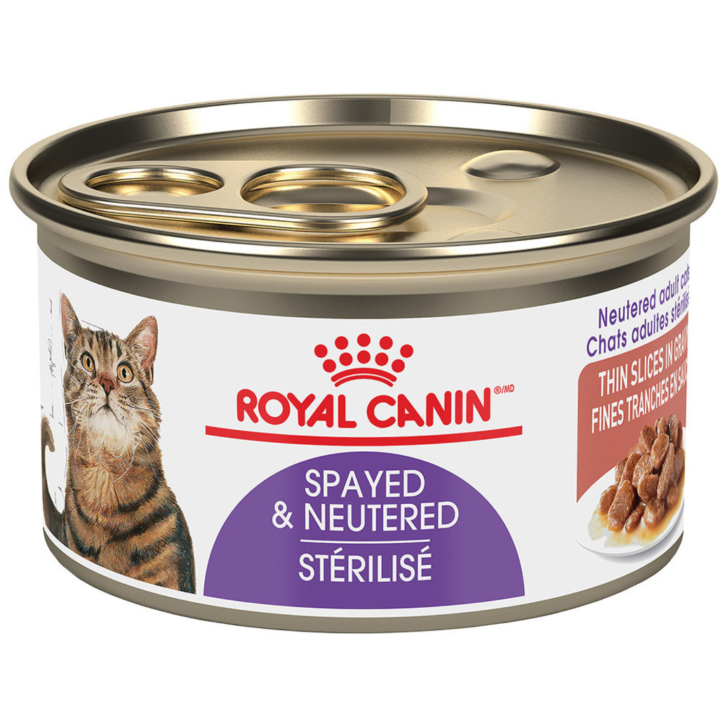 View larger image of Can, Feline Spayed Neutered - Thin Slices - 85 g