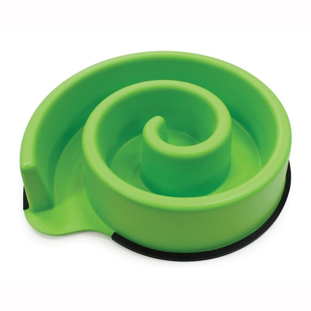 View larger image of Animal Instincts Slow Feed Bowl - Green -