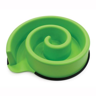 Animal Instincts Slow Feed Bowl - Green -