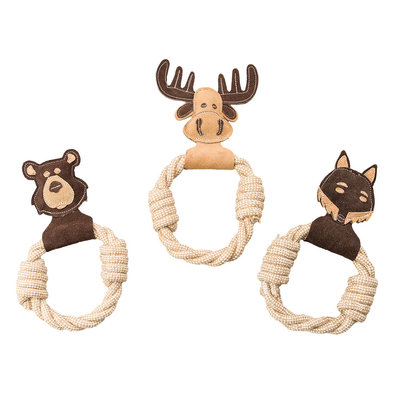 """Dura-Fused Leather - Animal Rings - Assorted - 11"""""""