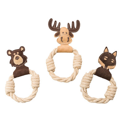 Dura-Fused Leather - Animal Rings - Assorted - 11""