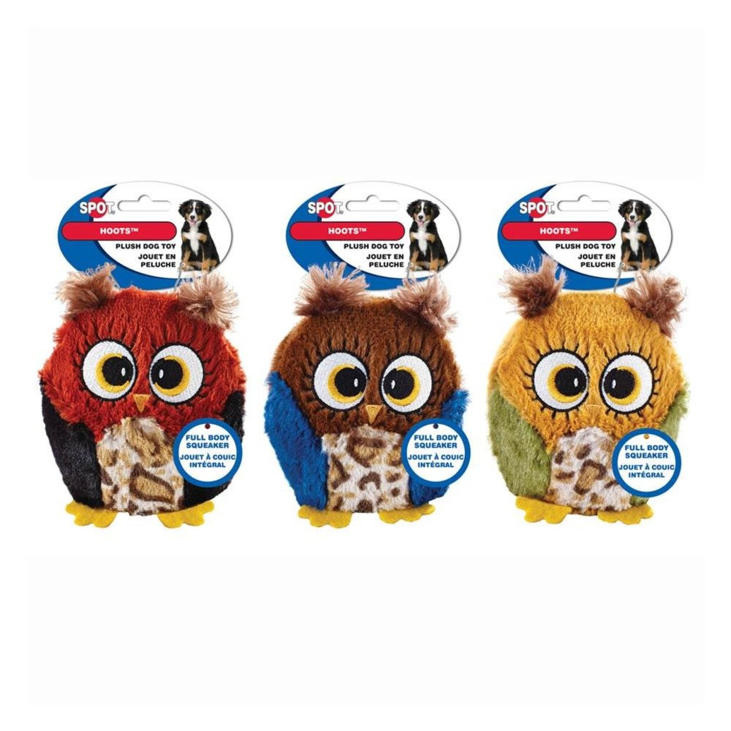 View larger image of Hoots - Full-Body Squeaker