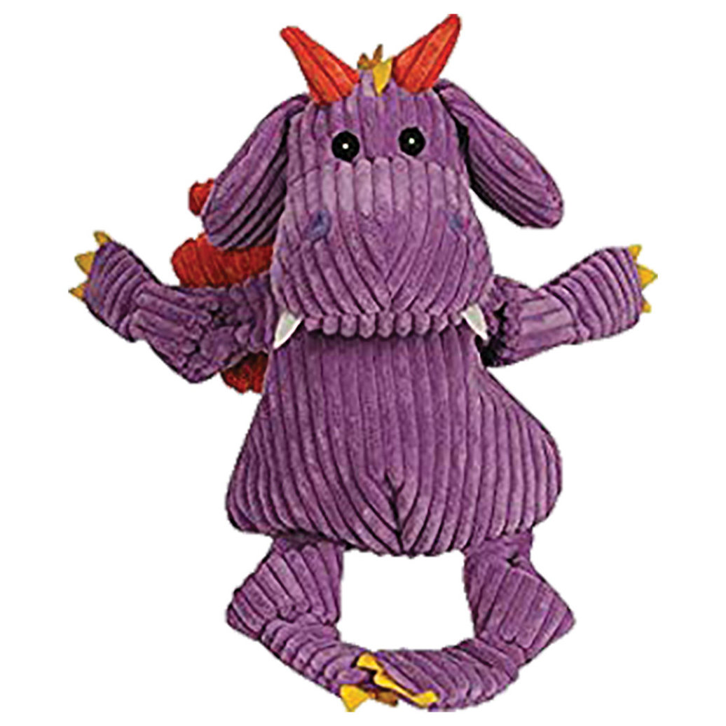 View larger image of Squeek Toy, Puff the Dragon - Purple - Small