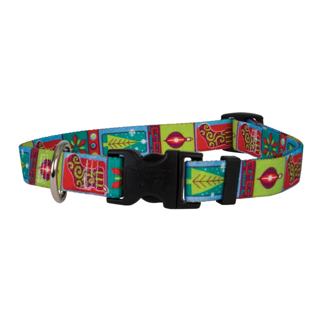 View larger image of Standard Collar - Retro Christmas - Large