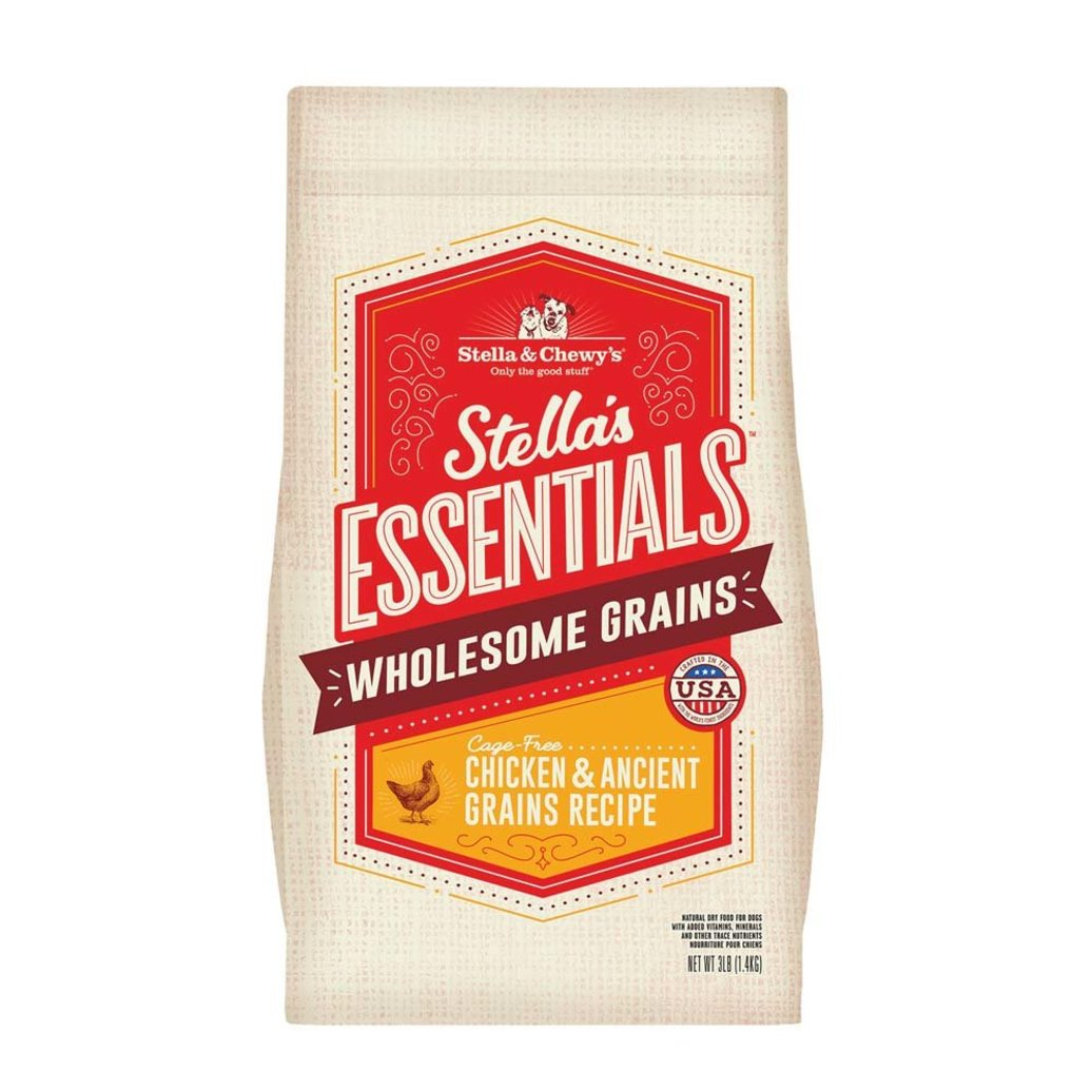 View larger image of Dog Stella's Essentials Kibble, Cage-Free Chicken & Wholesome Grains Recipe