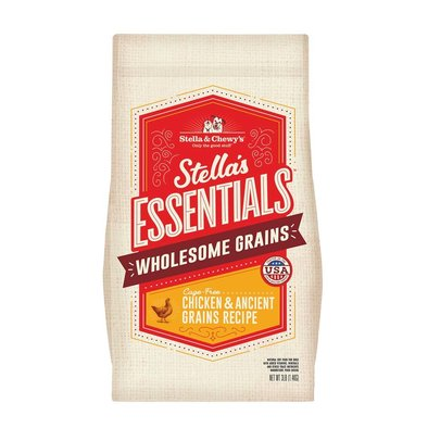 Dog Stella's Essentials Kibble, Cage-Free Chicken & Wholesome Grains Recipe