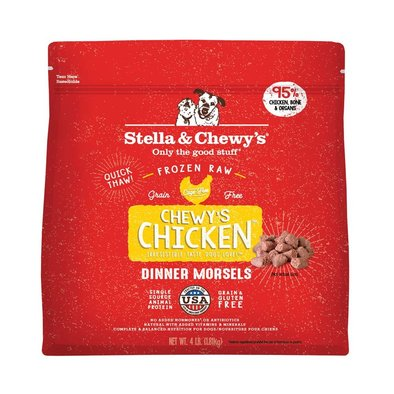 Dog Frozen Raw, Chewy's Chicken Dinner Morsels - 1.81 kg