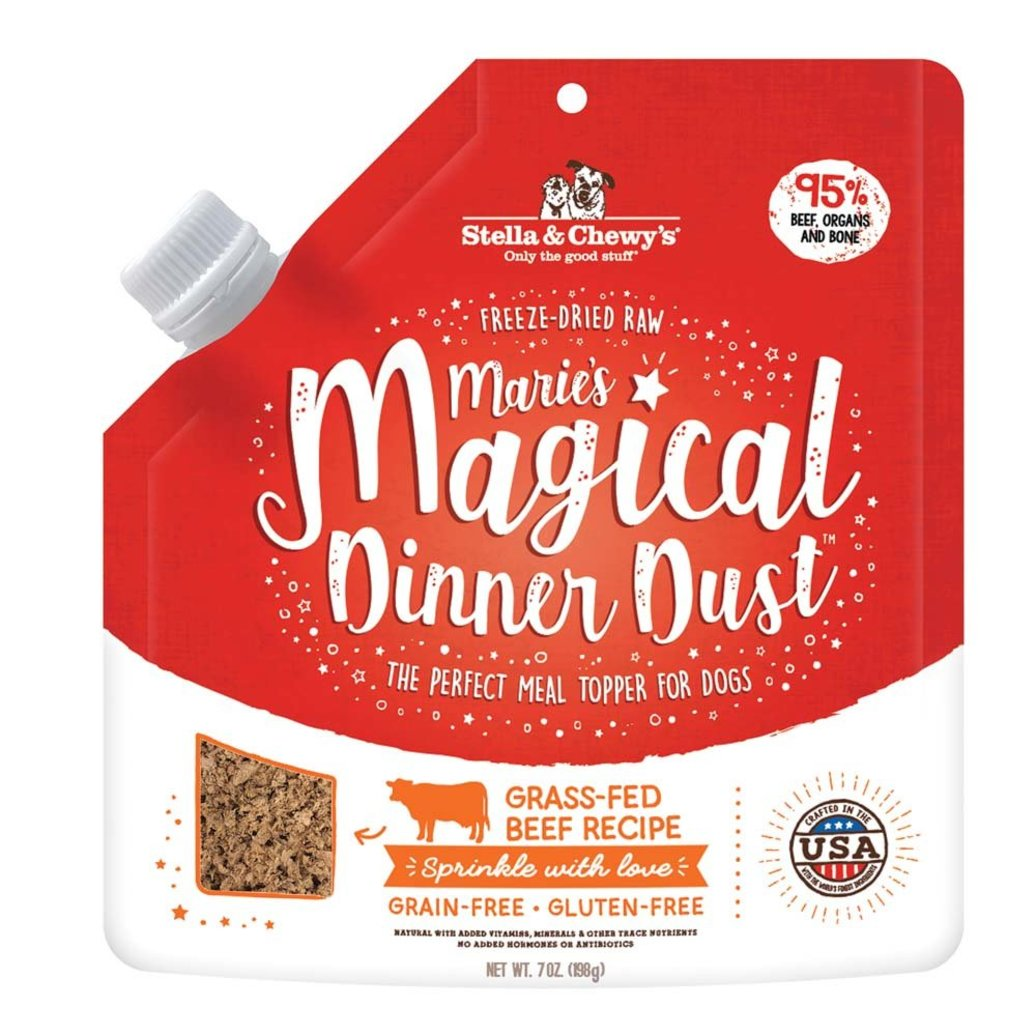 View larger image of Dog Freeze-Dried Raw, Marie's Magical Dinner Dust, Grass-Fed Beef Recipe - 198 g