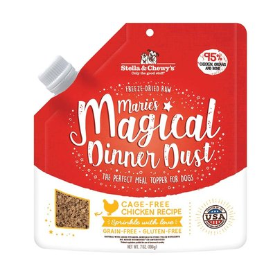Dog Freeze-Dried Raw, Marie's Magical Dinner Dust, Cage-Free Chicken Recipe - 198