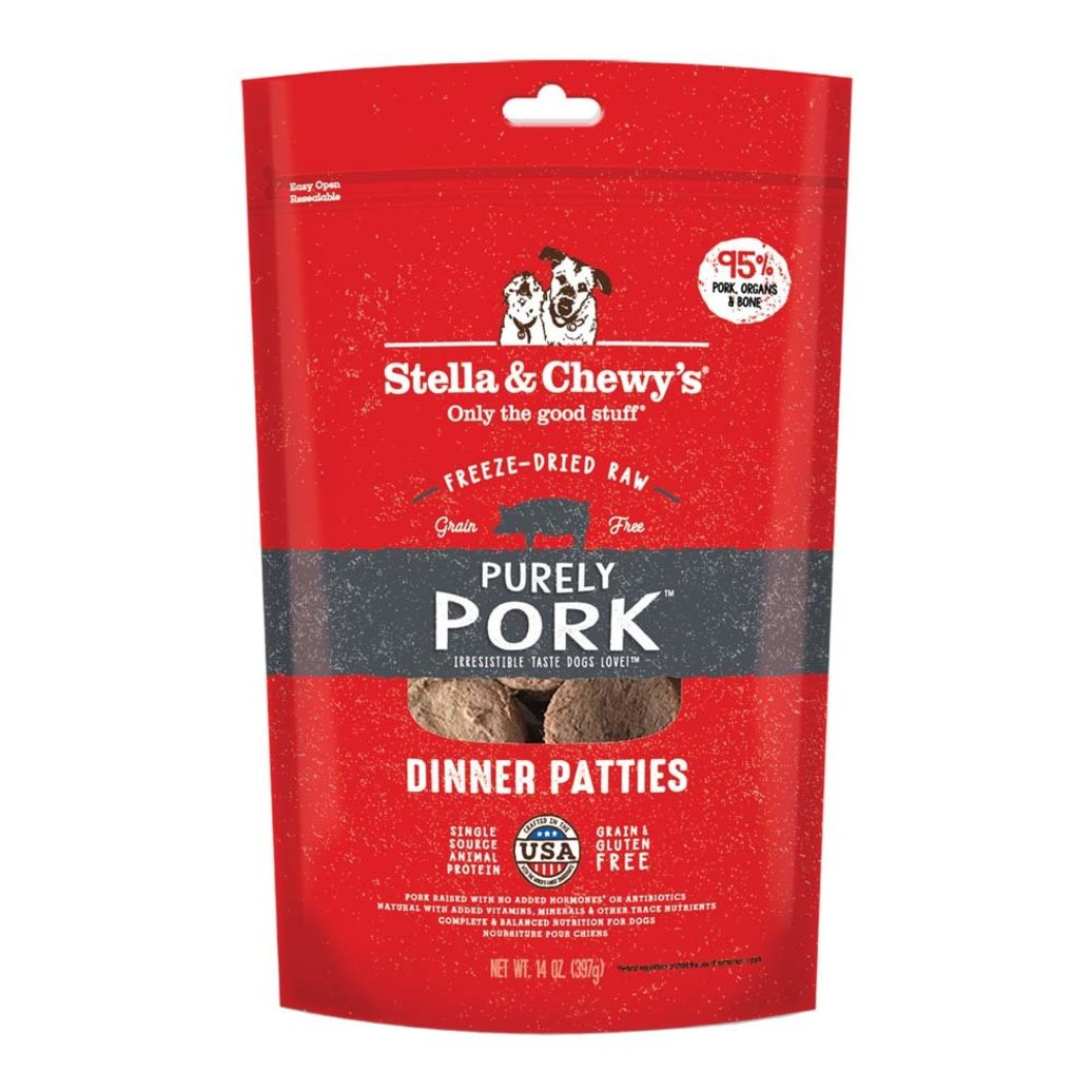 View larger image of Dog Freeze-Dried Raw, Purely Pork Dinner Patties - 396 g