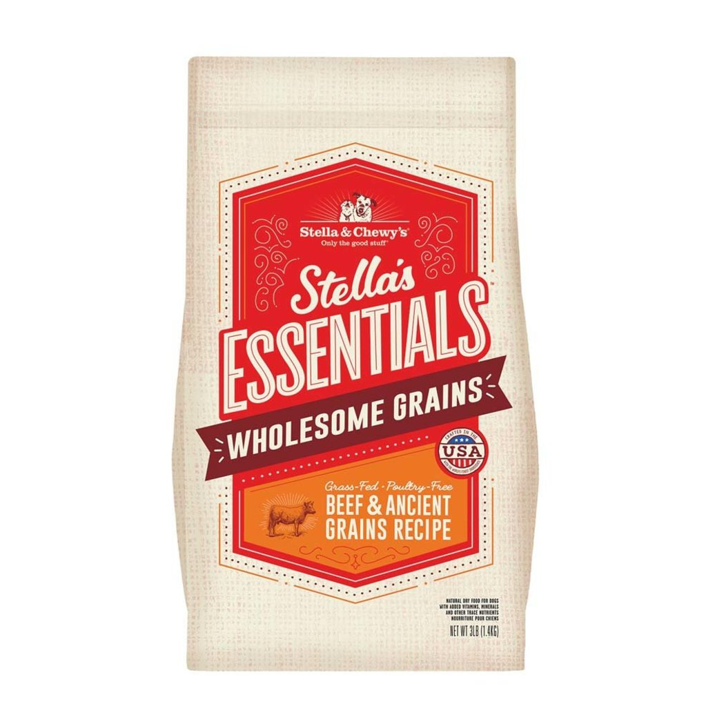View larger image of Dog Stella's Essentials Kibble, Grass-Fed Beef & Wholesome Grains Recipe