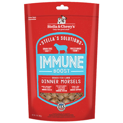 Dog Freeze-Dried Raw Stella's Solutions, Immune Boost Dinner Morsels - 368 g