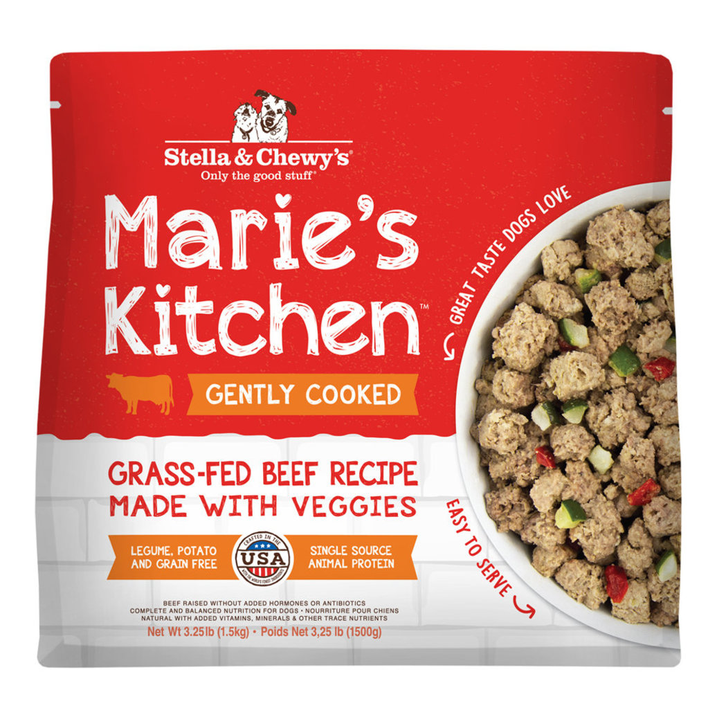 View larger image of Dog Gently Cooked Frozen, Marie's Kitchen Grass-Fed Beef Recipe - 1.47 kg