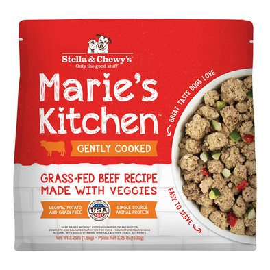 Dog Gently Cooked Frozen, Marie's Kitchen Grass-Fed Beef Recipe - 1.47 kg