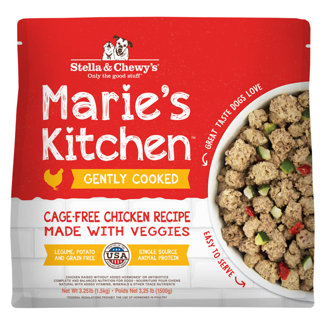 View larger image of Dog Gently Cooked Frozen, Marie's Kitchen Cage-Free Chicken Recipe - 1.47 kg