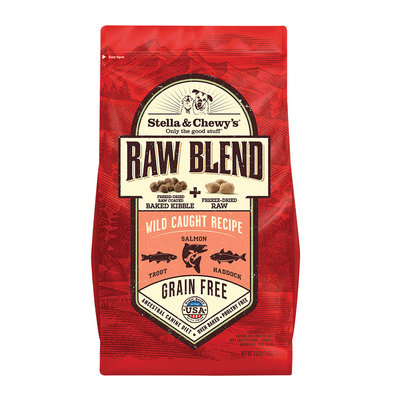 Dog Raw Blend Kibble, Wild Caught Recipe