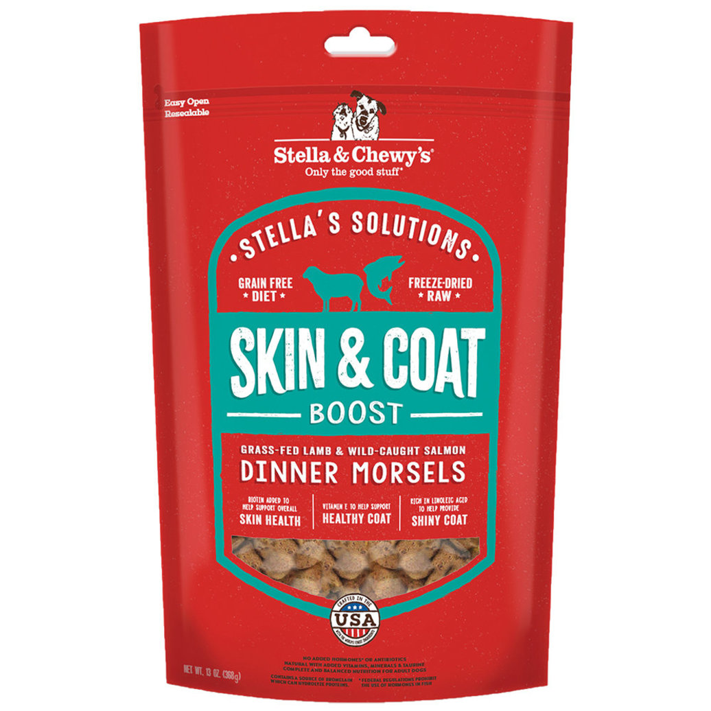 View larger image of Dog Freeze-Dried Raw Stella's Solutions, Skin & Coat Boost Dinner Morsels - 368 g