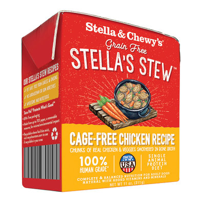Dog Stella's Stew, Cage Free Chicken Recipe - 312 g