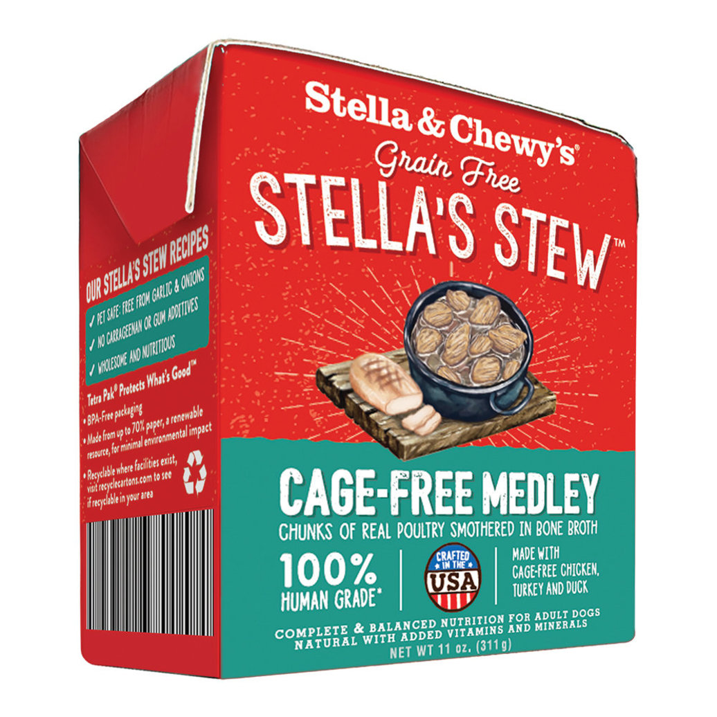 View larger image of Dog Stella's Stew, Cage Free Medley - 312 g