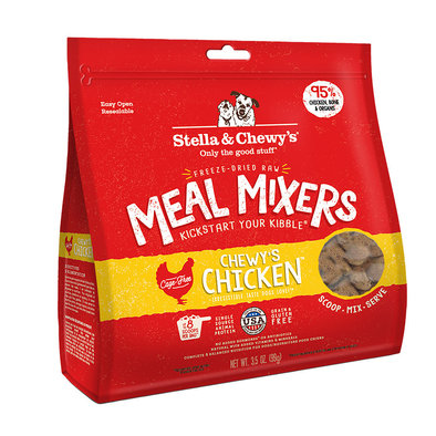 Dog Freeze-Dried Raw, Chewy's Chicken Meal Mixers