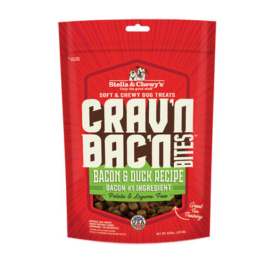 Crav'n Bac'n Bites - Bacon & Duck - 234 g