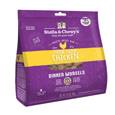 Cat Freeze-Dried Raw, Chick Chick Chicken Dinner Morsels - 99 g