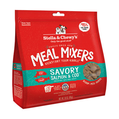 Freeze Dried Meal Mixer, Salmon & Cod
