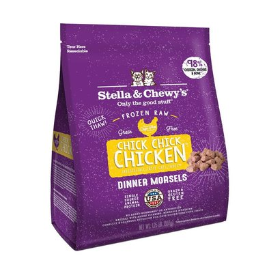 Cat Frozen Raw, Chick Chick Chicken Morsels