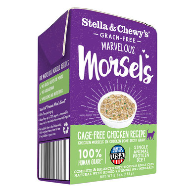 Cat Marvelous Morsels, Cage Free Chicken Recipe - 156 g