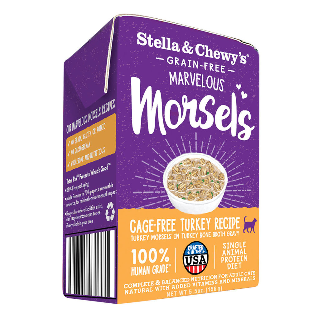 View larger image of Cat Marvelous Morsels, Cage Free Turkey Recipe - 156 g