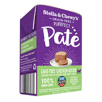 Cat Purrfect Pate, Cage Free Chicken Recipe - 156 g