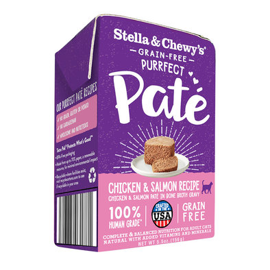 Cat Purrfect Pate, Chicken & Salmon Medley - 156 g