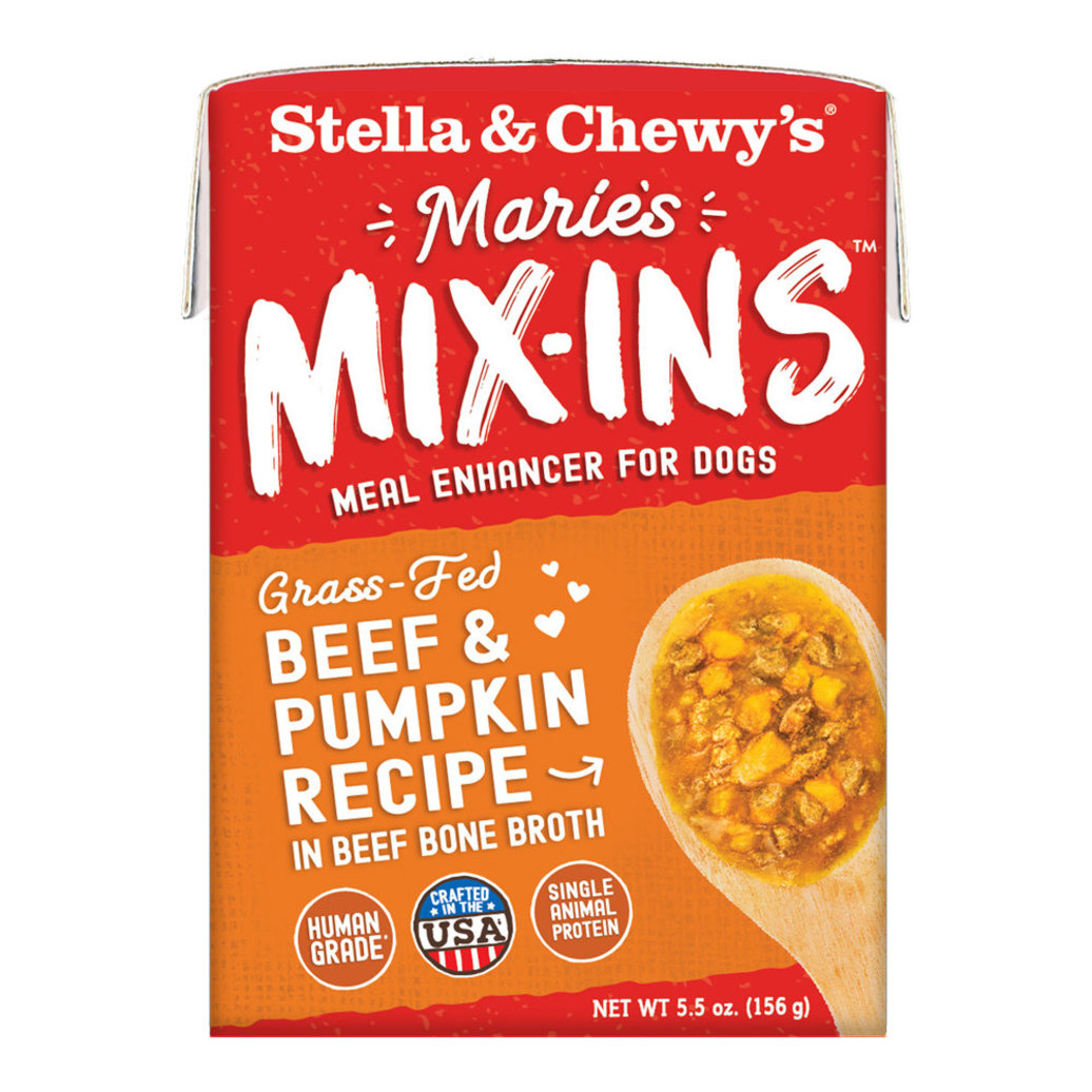 View larger image of Dog Marie's Mix-Ins, Grass-Fed Beef & Pumpkin Recipe - 156 g